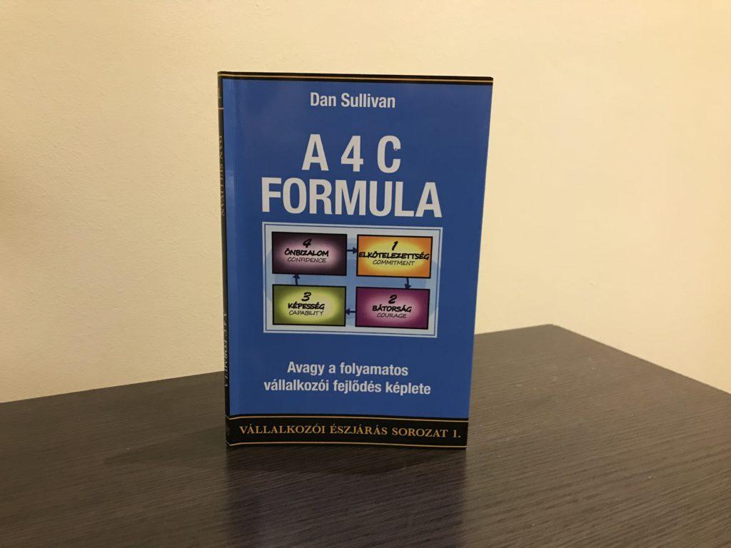 Dan Sullivan 4 C formula