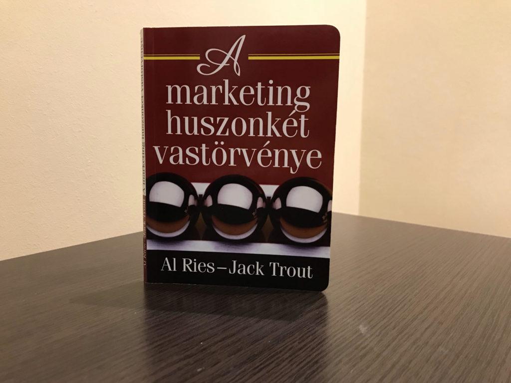 A marketing 22 vastörvénye